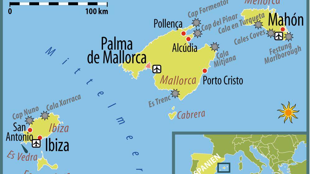 Mallorca, Menorca, Ibiza: Inselhopping mit dem Segelboot