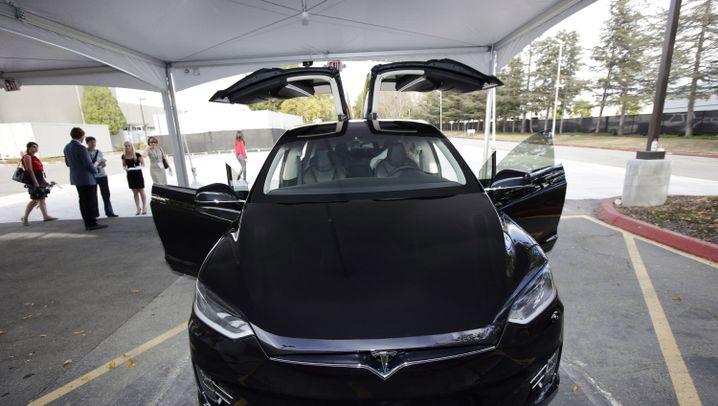 Elektro-SUV: Das ist Teslas Model X