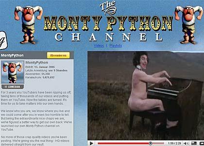 """YouTube-Kanal von Monty Python: """"Kauft unsere Filme und TV-Shows und mildert unseren Schmerz und unseren Abscheu, nachdem wir von Euch jahrelang abgezockt wurden"""""""