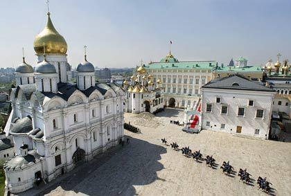 Kreml in Moskau: Auch Shell bekam den rauen Wind zu spüren