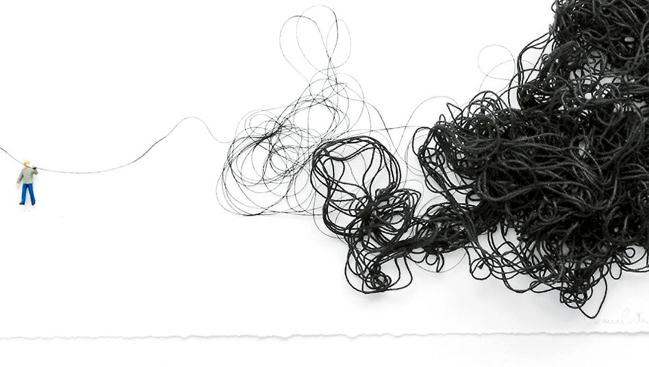 Man With String, 2009