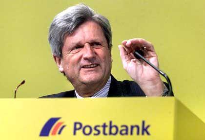 Vorzeitiger Abbgang: Postbank-Chef von Schimmelmann