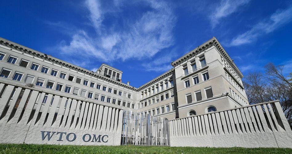 WTO-Zentrale in Genf: Die Rezession wegen der Corona-Krise wird wohl drastischer ausfallen als während der Finanzkrise 2008