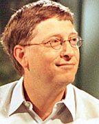 Auf nach Europa: Bill Gates