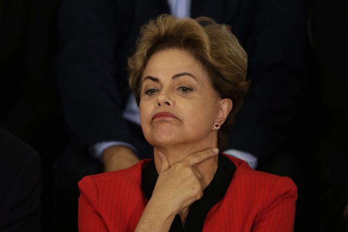 Präsidentin Rousseff: Zwei Drittel der Brasilianer wollen, dass sie geht