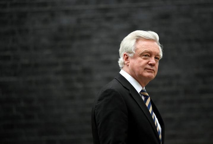 Unzufrieden mit dem Kurs von Theresa May: Minister David Davis ist zurückgetreten