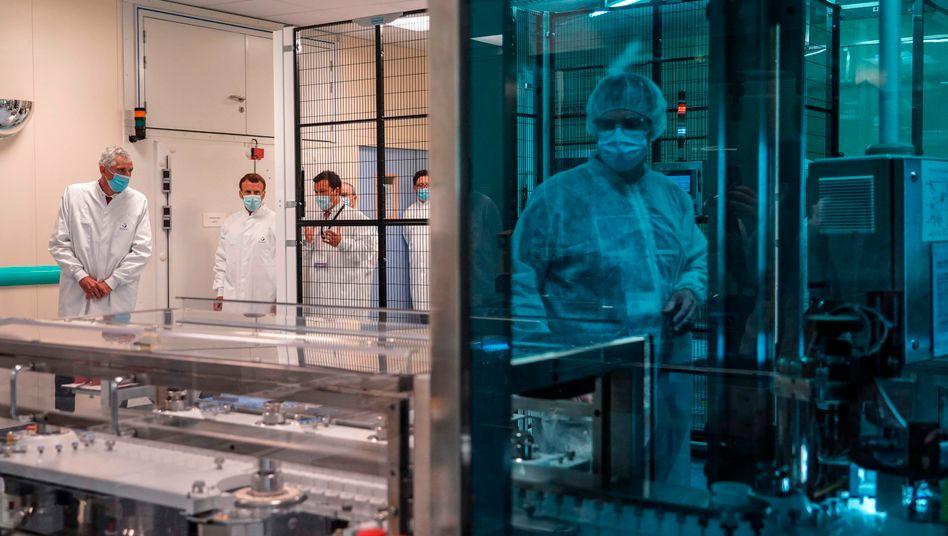 Hort der Hoffnung: Impfstofflabor von Sanofi
