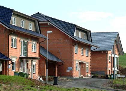 Trautes Eigenheim: Nur bei Neubauten ziehen die Preise an