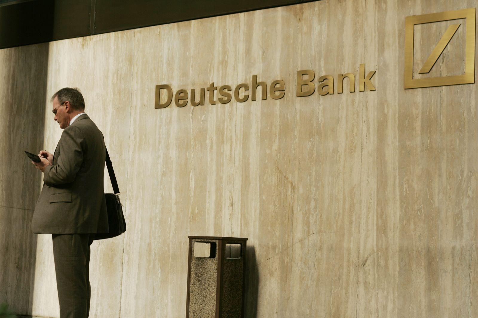 NICHT MEHR VERWENDEN! - Deutsche Bank/ New York