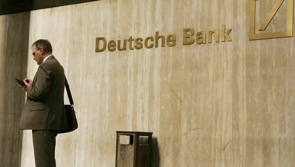 Deutsche Bank in New York City: Das Institut könnte die sogenannte Libor-Affäre noch im April beilegen