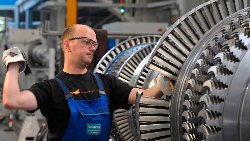Turbinenbau bei Siemens Energy: Der Konzern sieht sich in den USA mit Vorwürfen von General Electric konfrontiert