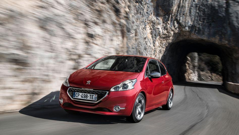 Neuer Peugeot 208: Der Kleinwagen der Franzosen bekommt gute Kritiken - dennoch sinkt der Peugeot-Marktanteil in Europa seit Jahren
