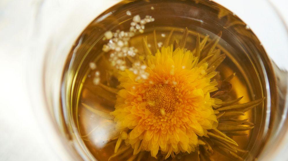 Tee: Neue Trends mit Blasen und Blüten