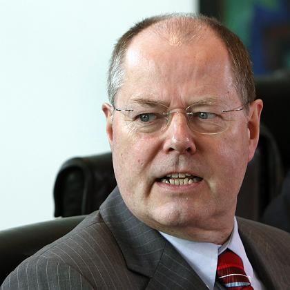 Finanzminister Steinbrück: SPD-Abgeordnete kritisieren die Bad-Bank-Pläne