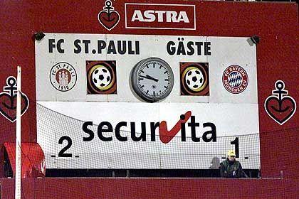 Auf die überlegene Technik des FC St. Pauli werden die Bayern aber auch in Zukunft neidisch sein