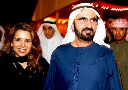 """""""Stark und beständig"""": Dubais Herrscher, Scheich Mohammed bin Raschid al Maktum, übt sich in Beschwichtigung - ist damit aber nicht wirklich erfolgreich"""