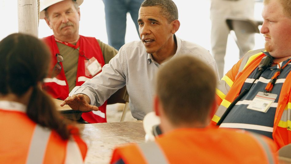 Gibt nicht nach: US-Präsident Obama geht auf Konfrontationskurs zur Ölindustrie
