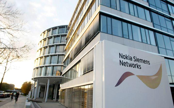 An Nokia abgegebene Zentrale für Telefoninfrastruktur (2009)