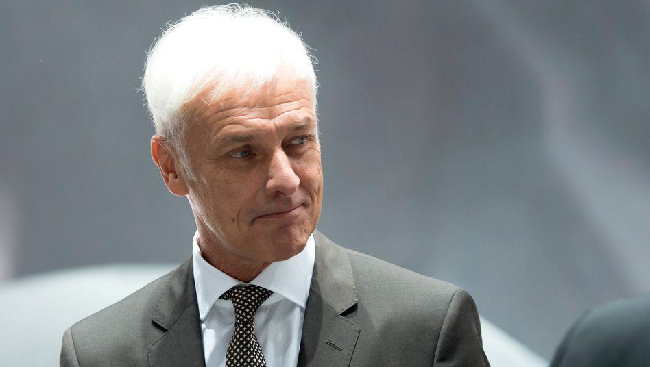 VW Vorstandschef Matthias Müller