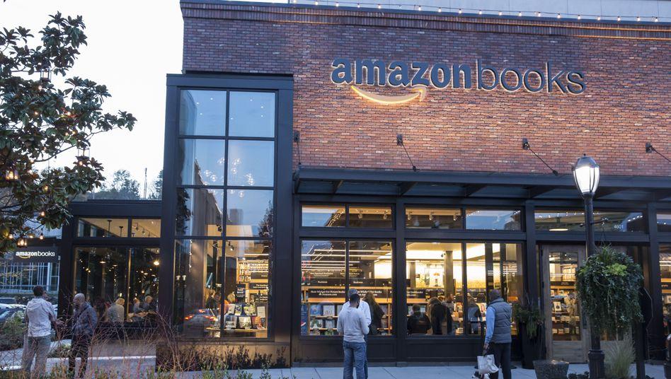 Ähnlich bald auch in Deutschland? Amazons erster Buchladen in Seattle