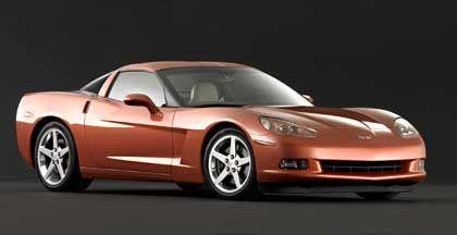 Verwandtschaft mit Vorläufer in die Karosse gestanzt: Chevrolet Corvette