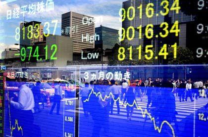 Bergab: Die japanische Wirtschaft schrumpft massiv