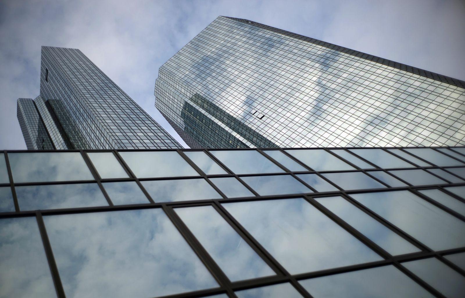 Deutsche Bank / Zentrale in Frankfurt