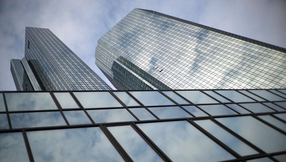 Deutsche Bank-Zentrale: Umstrittene Hypothekengeschäfte verfolgen Deutschlands Geschäfte fortgesetzt