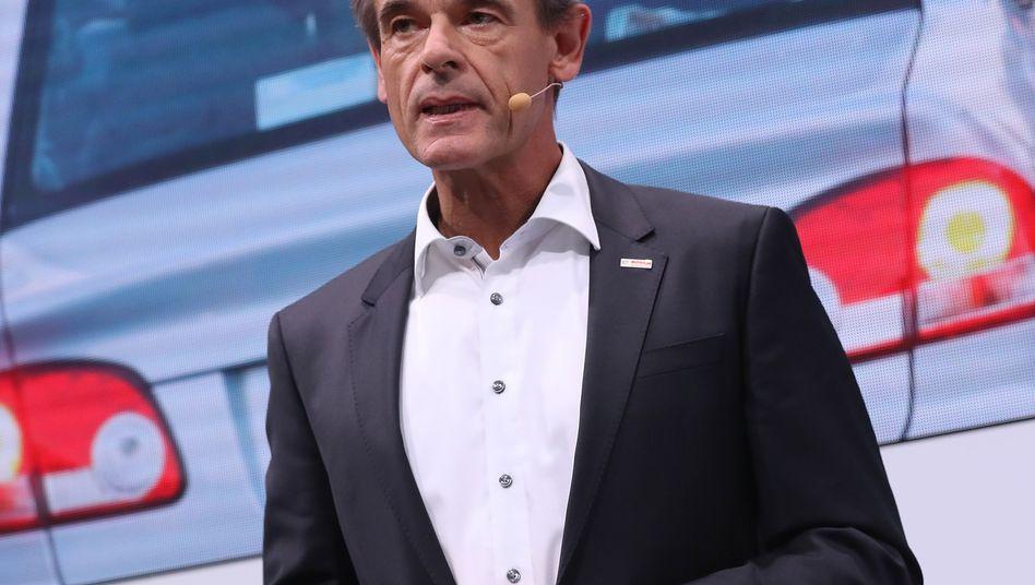 Bosch-Chef Volkmar Denner (Archivaufnahme, IAA 2017)