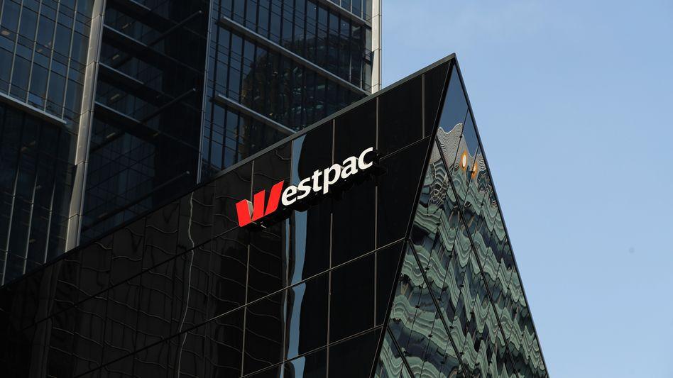 Australiens drittgrößte Bank: Westpac Bank in Sydney