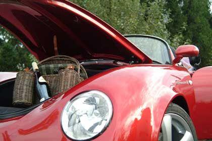 110 Liter Kofferraum: Für die kurze Spritzfahrt unter den interessierten Blicken der Öffentlichkeit
