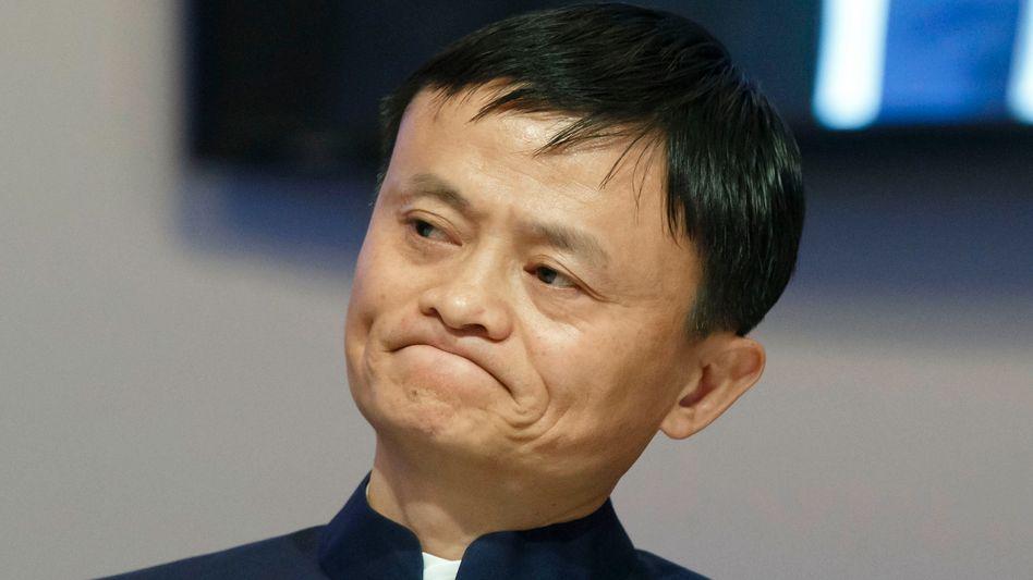 Alibaba-Chef Jack Ma: 3,2 Milliarden Dollar Umsatz im Quartal - doch Investoren hatten mehr erhofft