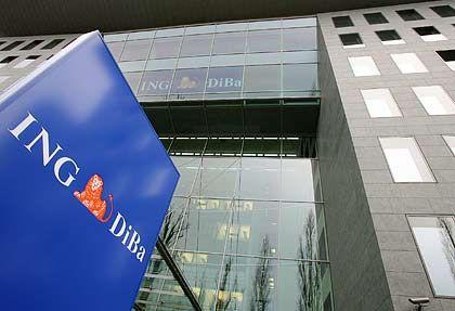 Deutsche Tochter: Die niederländische ING Bank hat einen Milliardenverlust eingefahren