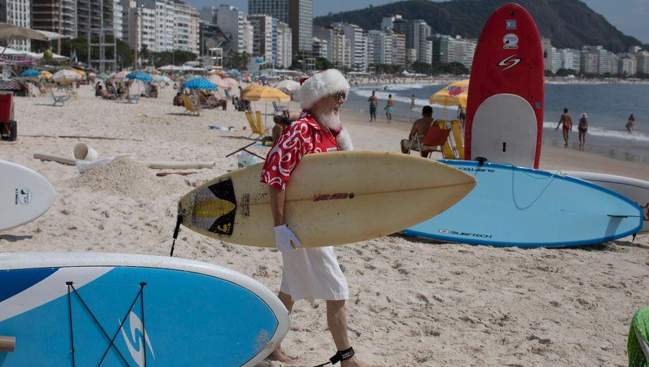 Zum Surfen nach Brasilien? Vorerst besser nicht, sagt die Bundesregierung.