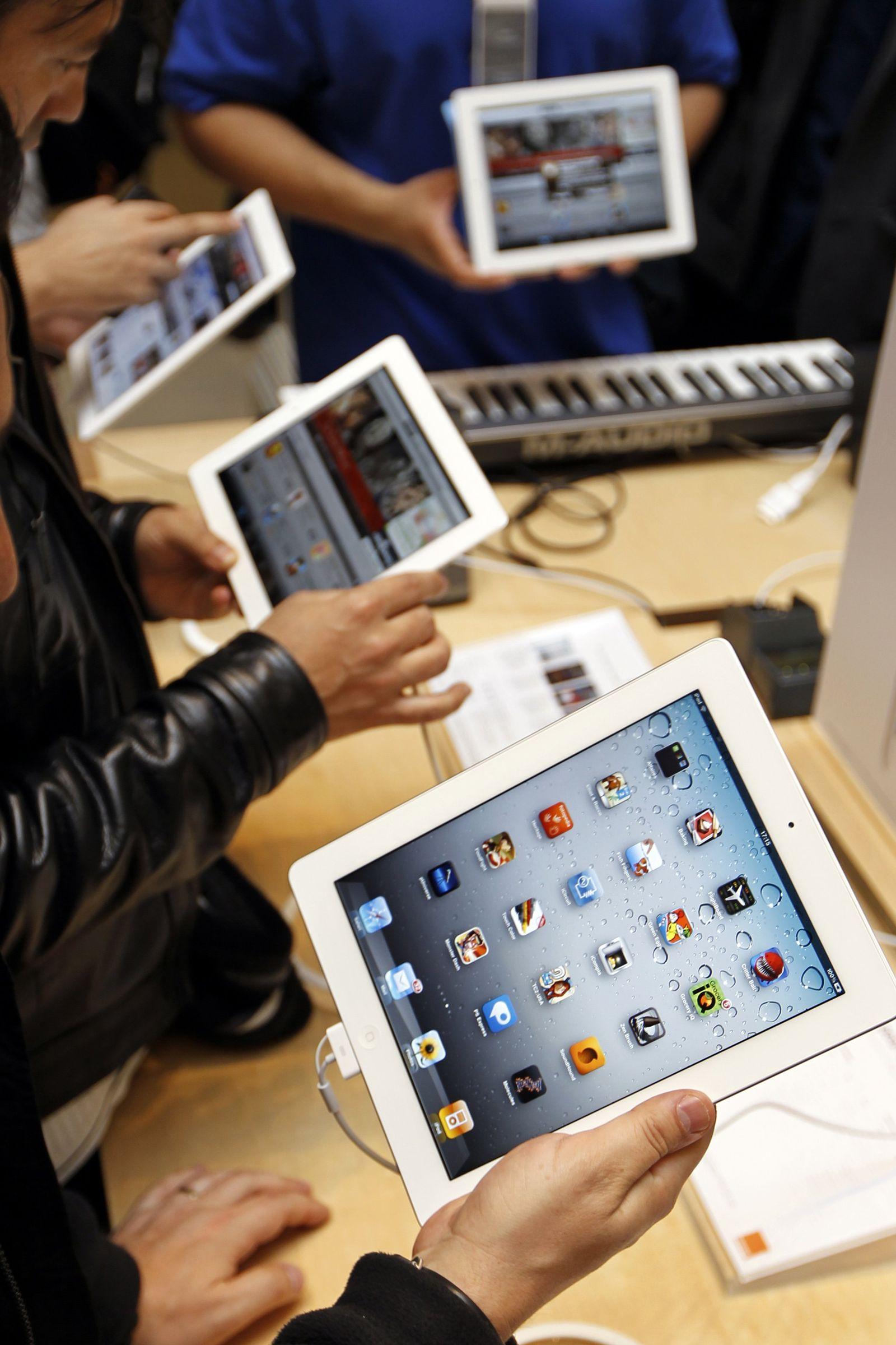 iPad weiß Apple Store