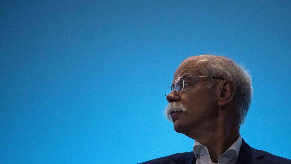 Der Vorstandsvorsitzende der Daimler AG Dieter Zetsche