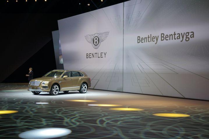 Der schnellste SUV der Welt: Volkswagen zeigt den Bentley Bentayga