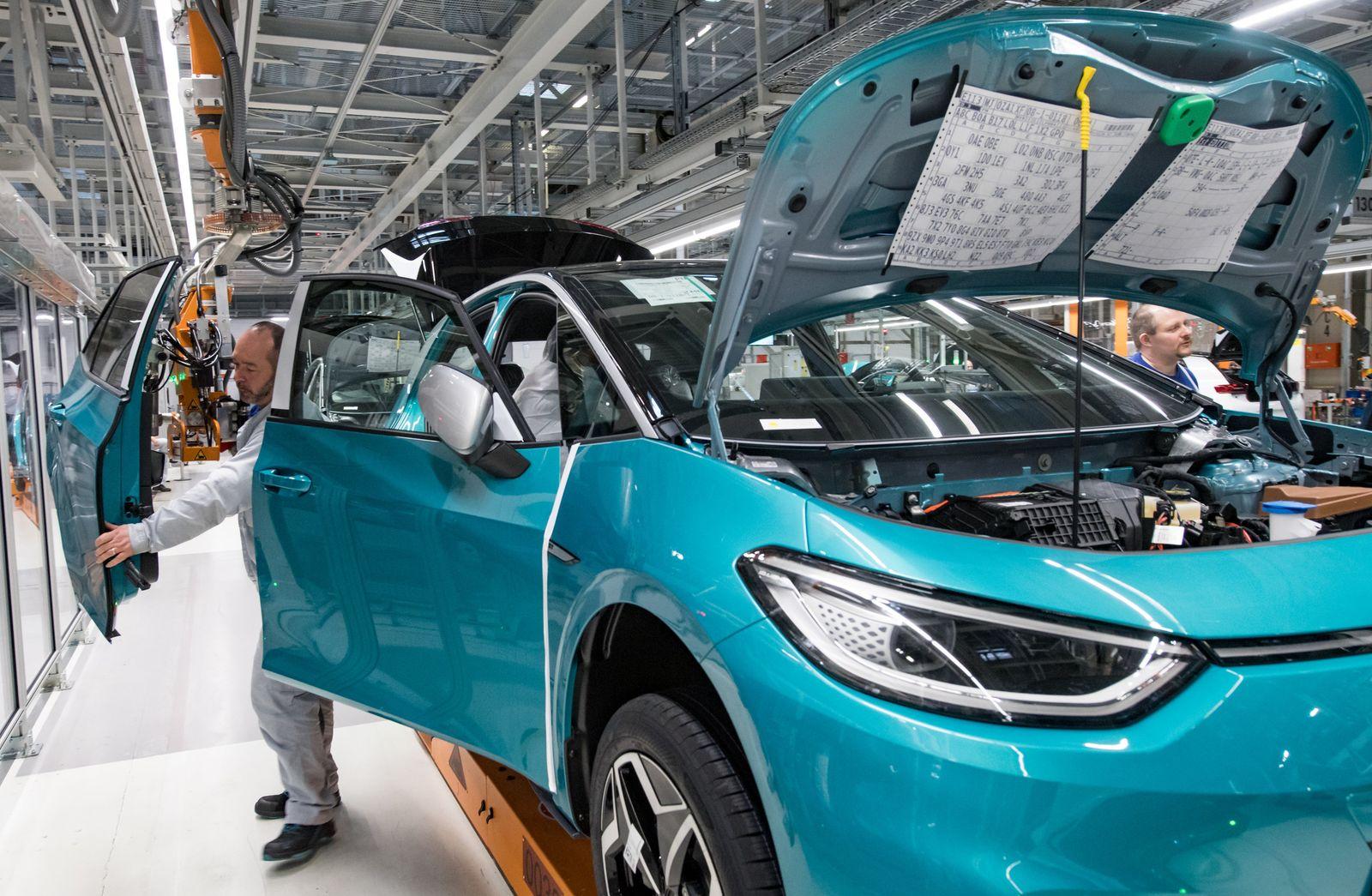 Produktion Volkswagen ID.3 in Zwickau