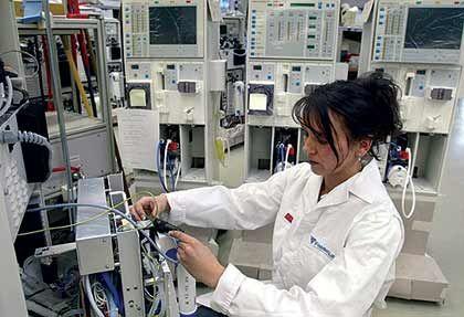Prüfung von Dialysegeräten: Umsatz von 327 Dollar je Behandlung