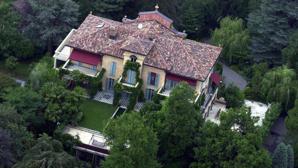 Villa des Ex-Beatle George Harrison in Montagnola, Schweiz: Zentralbanker des Landes warnen vor Immobilienblase