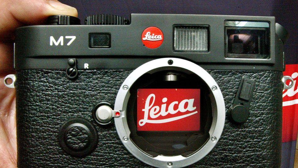 Traditionsmarke: Leica ist Pionier der Kleinbildkameras