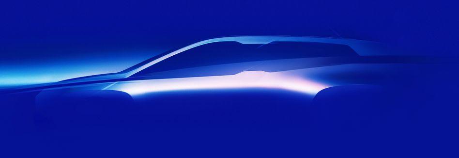 Erster Ausblick auf den BMW iNext. BMW will das Visionsfahrzeug noch im laufenden Jahr zeigen. Der BMW i4 und der iNext sollen den Kern der Elektrooffensive von BMW bilden