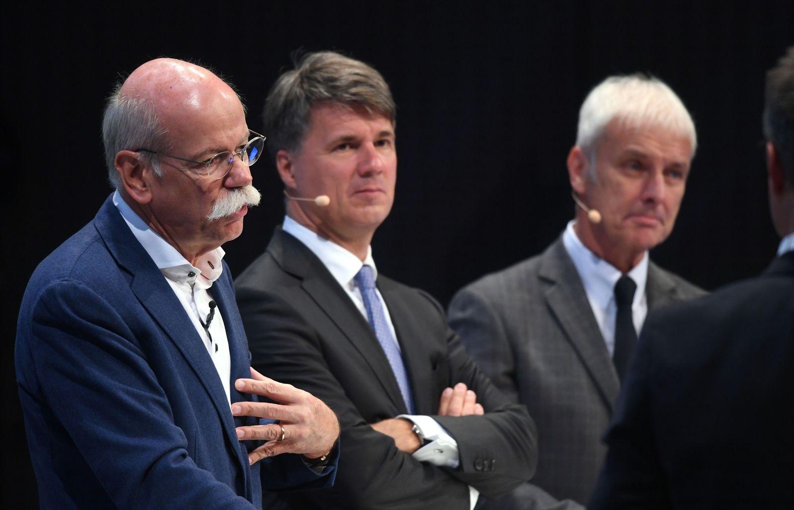Dieter Zetsche/ Harald Krüger/ Matthias Müller