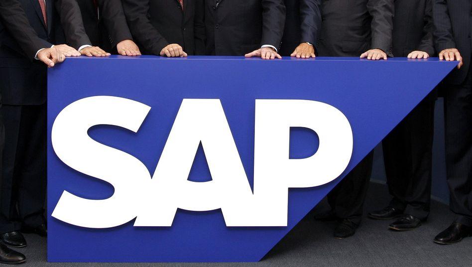 Die Zahlen von SAP und vor allem die Gewinnprognose des Konzerns kommen bei den Anlegern am Freitag gut an
