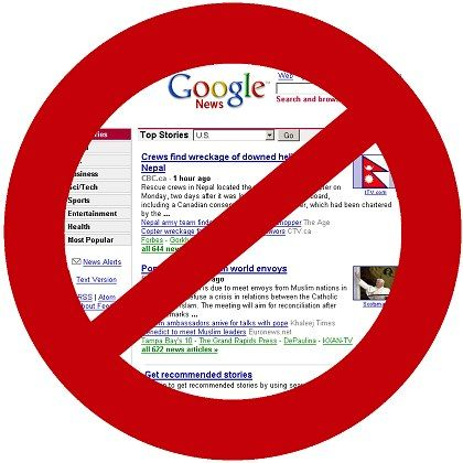 Dorn im Auge: Einige Zeitungen sehen ihre Urheberrechte durch Google News verletzt