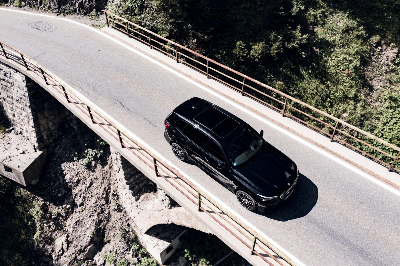 BMW X5 Plug in Hybrid / von oben