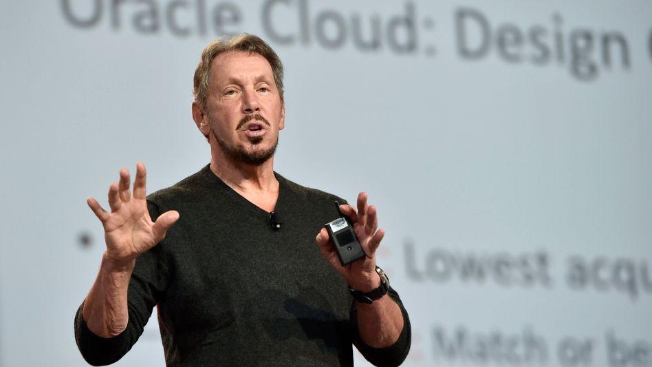 Geht sofort gegen das Urteil: Oracle-Gründer Larry Ellison