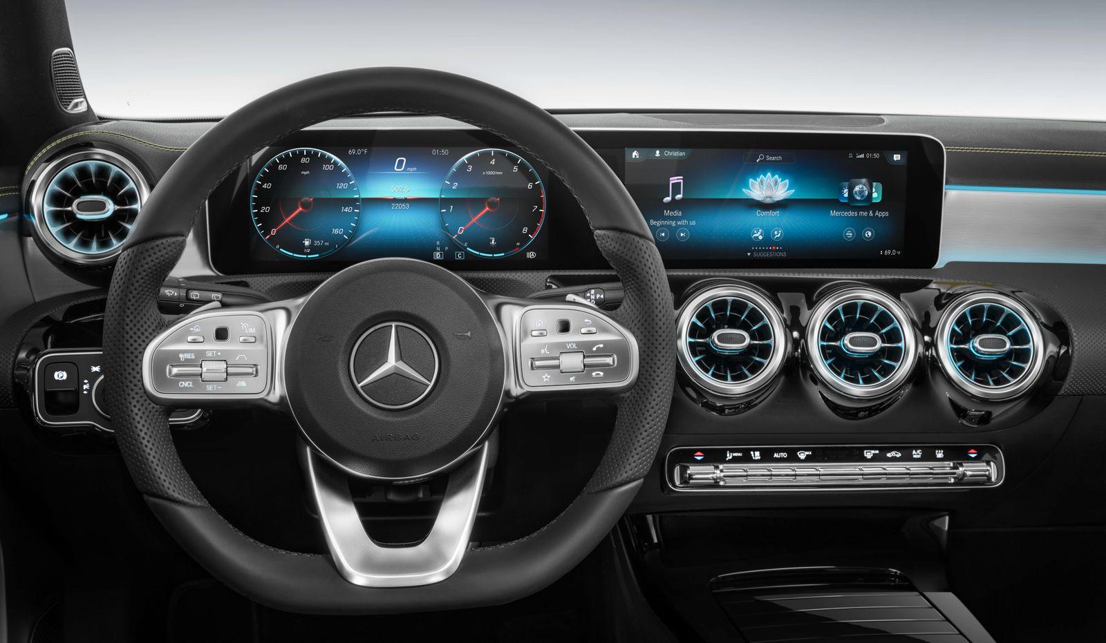 Mercedes-Benz A-Klasse (W177) 2018 Mercedes-Benz A-Class (W177) 2018