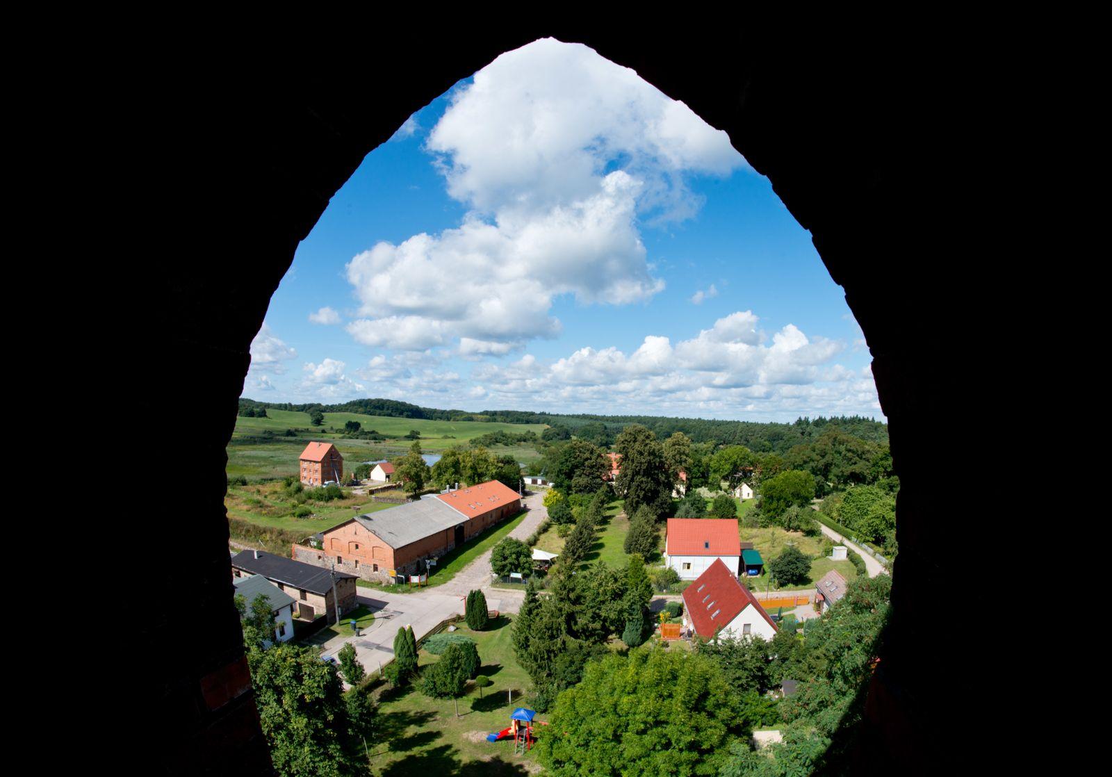 Dorf / uckermärkischen Altkünkendorf
