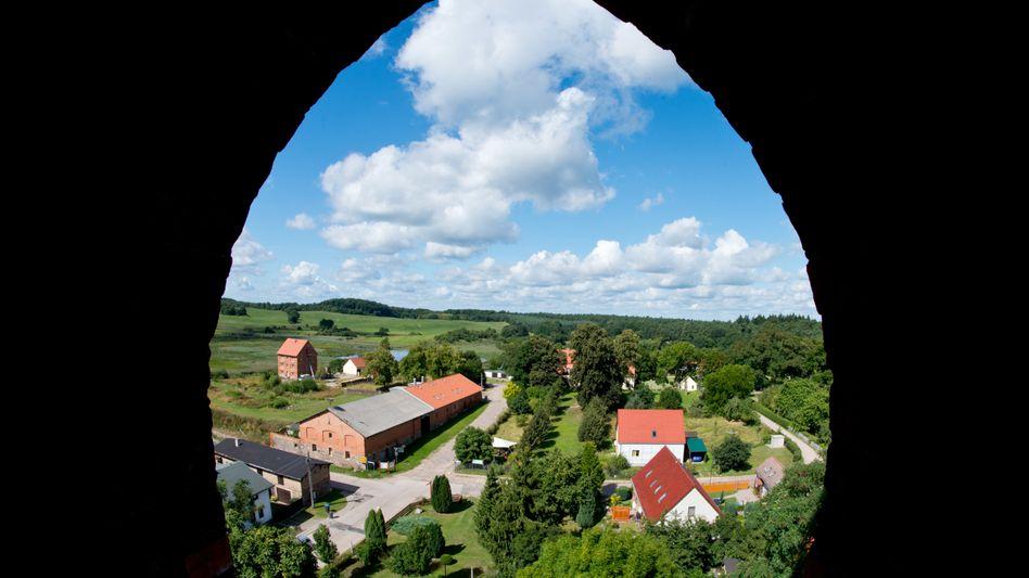 Dorfleben: Altkünkendorf in Brandenburg